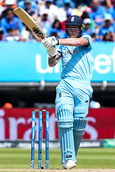 Ben Stokes of England - Mandatory by-line: Robbie Stephenson/JMP - 30/06/2019 - CRICKET - Edgbaston - Birmingham, England - England v India - ICC Cricket World Cup 2019 - Group Stage