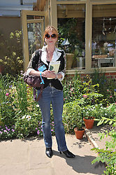 SAMANTHA BOND at the 2011 RHS Chelsea Flower Show VIP & Press Day at the Royal Hospital Chelsea, London, on 23rd May 2011.