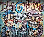 Street graffiti, San Telmo Quarter, Buenos Aires, Argentina
