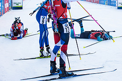 After the Mass Start Women 12,5 km at day 4 of IBU Biathlon World Cup 2019/20 Pokljuka, on January 23, 2020 in Rudno polje, Pokljuka, Pokljuka, Slovenia. Photo by Peter Podobnik / Sportida