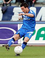 """Davide Matteini (Empoli)<br /> Italian """"Serie A"""" 2006-07 <br /> 01 Apr 2007 (Match Day 30)<br /> Empoli-Ascoli (4-1)<br /> """"Castellani"""" Stadium-Empoli-Italy<br /> Photographer Luca Pagliaricci INSIDE"""