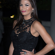 Rebeca Liscano is an TV host from Venezuela Arrive The Nelson Mandela Foundation hosts dinner in memory of Nelson Mandela on what would have been the day before his 100 birthday on 24 April 2018 at Rosewood Hotel, London, UK.