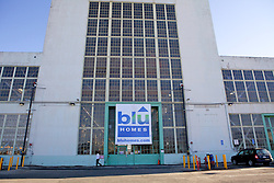 Blu Homes opened their West Coast factory on Mare Island in Vallejo, California Dec. 1, 2011.  Over 400 guests attended a ribbon cutting ceremony at the 250,000-square-foot facility.