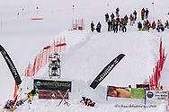 The Dummy Derby competetion at Whitefish Mountain Resort in Whitefish, Montana, USA