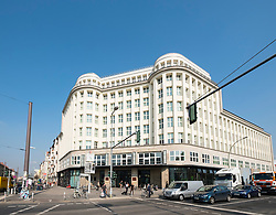 Exterior view of SOHO House hotel in Mitte Berlin Germany