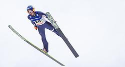 11.01.2014, Kulm, Bad Mitterndorf, AUT, FIS Ski Flug Weltcup, Bewerb, im Bild Maciej Kot (POL) // Maciej Kot (POL) during the FIS Ski Flying World Cup at the Kulm, Bad Mitterndorf, Austria on <br /> 2014/01/11, EXPA Pictures © 2014, PhotoCredit: EXPA/ JFK