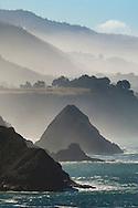 The rugged coastline of the Mendocino coast, near Elk, California