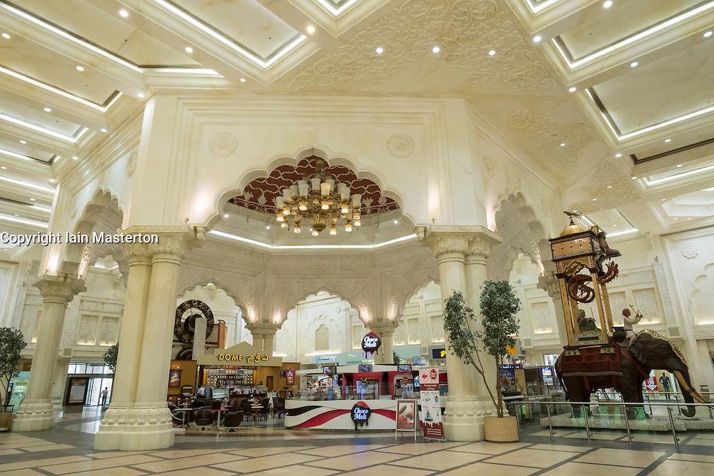 India Court at Ibn Battuta shopping mall in Jebel Ali district Dubai United Arab Emirates