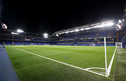 A general view of Stamford Bridge before the UEFA Europa League match between Chelsea and BATE Borisov.