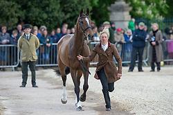 Taylor Izzy, (GBR), KBIS Briarlands Matilda<br /> First Horse Inspection - Mitsubishi Motors Badminton Horse Trials <br /> Badminton 2015