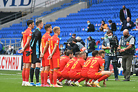 Football - 2020 / 2021 UEFA Nations League - Group B4 - Wales vs Bulgaria<br />      <br /> wales team photo rear view<br /> in a match played with no crowd due to Covid 19 coronavirus emergency regulations, in an almost empty ground, at the Cardiff City Stadium.<br /> <br /> COLORSPORT/WINSTON BYNORTH
