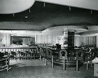 1961 Hollywood Plaza Hotel's lounge