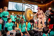 Koningin Máxima opent het vernieuwde Musis 'huis voor muziek'