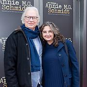 NLD/Amsterdamt/20180930 - Annie MG Schmidt viert eerste jubileum, Eddy Habbema en partner