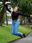 13/08/2019 Repro Free:  Caoimhe Laffey Salthill (589 Points) who received their Leaving Certificate Results from Yeats College in Galway City. Photo:Andrew Downes, xposure.