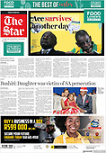 March 30, 2021 (AFRICA): Front-page: Today's Newspapers In Africa