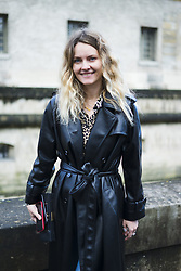 March 4, 2018 - Paris, France - Ekaterina Mukhina is seen during Paris Fashion Week Womenswear Fall/Winter 2018/2019, on March 4, 2018 in Paris, France. (Credit Image: © Nataliya Petrova/NurPhoto via ZUMA Press)