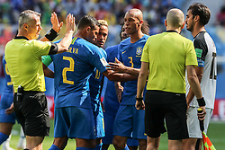 June 22, 2018 - Sao Petesburgo, Vazio, Russia - Dutch referee Bjorn Kuipers during the match between Brazil and Costa Rica for the second round of group E of the 2018 World Cup, held at Saint Petersburg Stadium, St. Petersburg, Russia. Game ended scoreless. (Credit Image: © Thiago Bernardes/Pacific Press via ZUMA Wire)