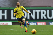 Oxford United Forward, Wes Thomas (9) during the EFL Sky Bet League 1 match between Oxford United and Bristol Rovers at the Kassam Stadium, Oxford, England on 10 February 2018. Picture by Adam Rivers.