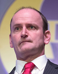 © Licensed to London News Pictures. 28/02/2015. Margate, UK. Douglas Carswell MP addresses  at the second day of the conference.  The UKIP spring conference at Margate Winter Gardens 28th February 2015. Photo credit : Stephen Simpson/LNP