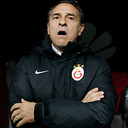 Galatasaray's Coach Claudio Cesare Prandelli during their Turkish Super League soccer match Galatasaray between Kasimpasaspor at the TT Arena at Seyrantepe in Istanbul Turkey on Friday, 31 October 2014. Photo by Kurtulus YILMAZ/TURKPIX