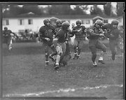 Football. Benson vs Cleveland. October 12, 1951.
