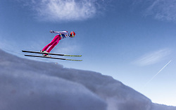 21.02.2019, Bergiselschanze, Innsbruck, AUT, FIS Weltmeisterschaften Ski Nordisch, Seefeld 2019, Nordische Kombination, Skisprung, Training, im Bild Eric Frenzel (GER) // Eric Frenzel of Germany during a training of Ski Jumping competition for Nordic Combined of FIS Nordic Ski World Championships 2019. Bergiselschanze in Innsbruck, Austria on 2019/02/21. EXPA Pictures © 2019, PhotoCredit: EXPA/ JFK