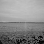 Today's drap Winter Sunrise  at Narragansett Town Beach, Narragansett, RI,  February  5, 2013. Photo: Tripp Burman