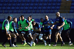 February 8, 2019 - Rome, Italy - Italy captain's run - Rugby Guinness Six Nations .Italy rugby team training captain's run in view of the match versus Wales at Olimpico Stadium in Rome, Italy on February 8, 2019. (Credit Image: © Matteo Ciambelli/NurPhoto via ZUMA Press)