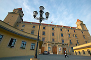 Europe, Slovakia, capitol city - Bratislava, Bratislava castle..
