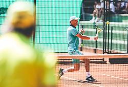 International Tennis Tournament  ITF Seniors on August  21, 2021 in Tivoli, Ljubljana, Slovenia. Photo by Vid Ponikvar / Sportida