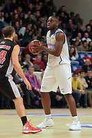 Giovan Oniangue - 27.12.2014 - Paris Levallois / Nancy - 15eme journee de Pro A<br />