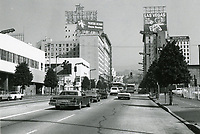 1979 Looking north on Vine St. towards Selma Ave.