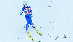 03.01.2016, Bergisel Schanze, Innsbruck, AUT, FIS Weltcup Ski Sprung, Vierschanzentournee, Bewerb, im Bild Johann Andre Forfang (NOR) // Johann Andre Forfang of Norway reacts after his Competition Jump of Four Hills Tournament of FIS Ski Jumping World Cup at the Bergisel Schanze, Innsbruck, Austria on 2016/01/03. EXPA Pictures © 2016, PhotoCredit: EXPA/ JFK