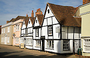 Historic buildings and art gallery shop, Dedham, Essex, England
