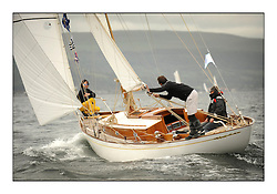 Day one of the Fife Regatta, Round Cumbraes Race.<br /> <br /> Ellad, Didier Griffiths, FRA, Bermudan Sloop, Fairlie Yacht Services 1957<br /> <br /> * The William Fife designed Yachts return to the birthplace of these historic yachts, the Scotland's pre-eminent yacht designer and builder for the 4th Fife Regatta on the Clyde 28th June–5th July 2013<br /> <br /> More information is available on the website: www.fiferegatta.com