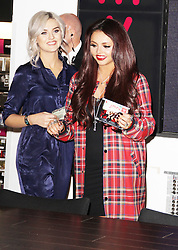 Perrie Edwards & Jesy Nelson, Little Mix: Salute Album Signing, HMV Oxford Circus, London UK, November 11 2013, Photo by Brett Cove © Licensed to London News Pictures. Photo credit : Brett D. Cove/Piqtured/LNP