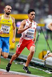 2019 IAAF World Athletics Championships held in Doha, Qatar from September 27- October 6<br /> Day 2<br /> Puerto Rico men 800