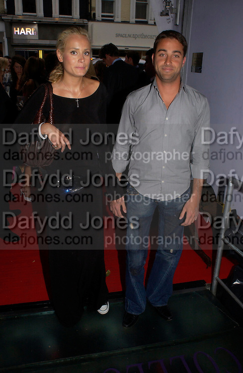 Kalita Al-Swaidi and Aris Pissiotis. Polo players party hosted by AJM International Publishing and Cartier celebrating the 21st anniversary of the Cartier International Polo. The Collection, London. ONE TIME USE ONLY - DO NOT ARCHIVE  © Copyright Photograph by Dafydd Jones 66 Stockwell Park Rd. London SW9 0DA Tel 020 7733 0108 www.dafjones.com