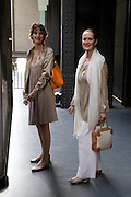 COSIMA BALSAN; PASCALE MUSSARD, HBOX opening Hosted by Tate Modern and Hermes.  Turbine Hall. London. 3 July 2008.  *** Local Caption *** -DO NOT ARCHIVE-© Copyright Photograph by Dafydd Jones. 248 Clapham Rd. London SW9 0PZ. Tel 0207 820 0771. www.dafjones.com.