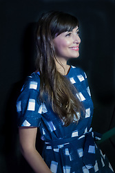 Hannah Simone at We Day 2015, Seattle, Washington. Free the Chldren event which inspires youth activism and volunteering.