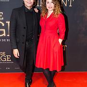 NLD/Amsterdam/20181023 -  Film premiere De Dirigent, Sanne Vogel en ........