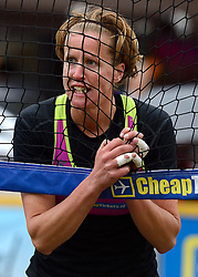 20150621 NED: Wildcard WK Beachvolleybal, Amstelveen<br /> In Amstelveen werd er voor de laatste ticket voor het WK gestreden / Annemieke Driessen