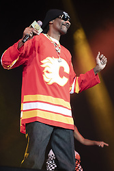 February 21, 2019 - Calgary, Alberta, Canada - Snoop Dogg performs at the Scotiabank Saddledome in Calgary, Alberta. (Credit Image: © Baden Roth/ZUMA Wire)