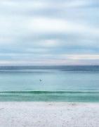 The calm Emerald Coast beaches in, Destin, Florida.