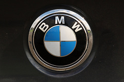 File photo dated 13/09/11 of a logo for BMW, as workers at the car giant are to stage a protest outside one of the car maker's prestige showrooms as part of a dispute over pensions.