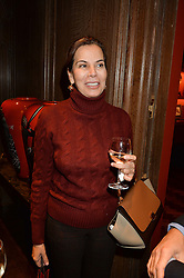***UK_MAGAZINES_OUT***<br /> LONDON, ENGLAND 30 NOVEMBER 2016: <br /> Dowager Duchess of Marlborough at the launch of In The Spirit of Gstaad at Maison Assouline, Piccadilly, London hosted by Mandolyna Theodoracopulos and Homera Sahni England. 30 November 2016.