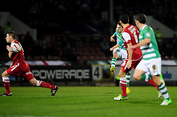 - Photo mandatory by-line: Dougie Allward/JMP - Tel: Mobile: 07966 386802 09/01/2013 - SPORT - FOOTBALL - Matchroom Stadium - London -  Leyton Orient v Yeovil Town - Johnstone's Paint Trophy Southern area semi-final.