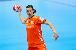 Inger Smits of Netherlands in action during the Women's EHF Euro 2020 match between Netherlands and Serbia at Sydbank Arena on december 05, 2020 in Kolding, Denmark (Photo by RHF Agency/Ronald Hoogendoorn)