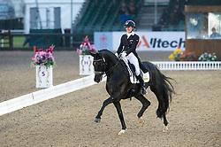 Hayley Watson-Greaves, (GBR), Rubins Nite<br /> CDI3* Grand Prix <br /> Royal Windsor Horse Show - Windsor 2015<br /> © Hippo Foto - Jon Stroud